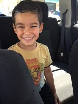 Anthony now, 5 years old.